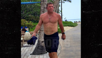 Troy Aikman -- INSANE PHYSIQUE ... Check Out My 8-Pack!!! (PHOTOS)