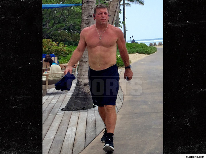 Troy Aikman: INSANE PHYSIQUE  Check Out My 8-Pack