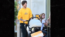 One Direction's Louis Tomlinson -- Strollin' Solo with Baby Freddie (PHOTOS)