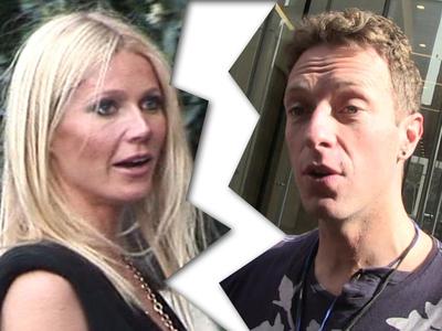 Gwyneth Paltrow & Chris Martin -- 'Conscious' Divorce Settlement Struck