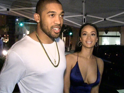 Orlando Scandrick & Draya Michele -- Pre-Baby Mansion Shopping