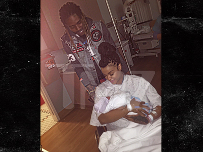 Fetty Wap & Masika -- Introducing Our Baby Girl ... Khari (PHOTO)