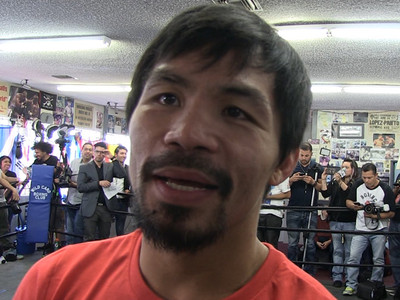 Manny Pacquiao -- To Hell with the Ban ... I'm Still Going to The Grove (VIDEO)