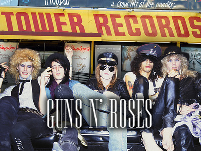 Guns N' Roses -- Cops Mobilize for L.A. Ticket Giveaway ... Not April Fools