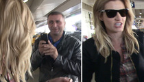 Erin Andrews -- This Taxi Driver's Creeping Me Out With His Video Camera! (VIDEO)