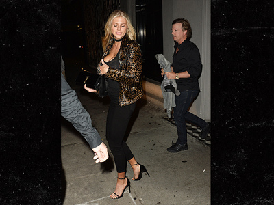 Charlotte McKinney Pouring Out of Top During David Spade Date (PHOTO)