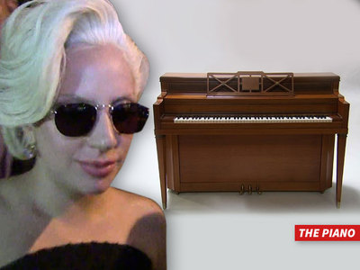 Lady Gaga -- Tickle My Original Ivories for $200k