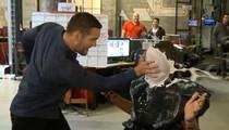 UFC's Chris Weidman -- DELIVERS PIE JUSTICE ... To TMZ Loser (VIDEO)