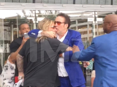 Vince Neil -- Fights Nic Cage After Allegedly Attacking Woman (VIDEO)
