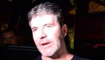 Simon Cowell -- No Marriage Talk in Front of My Baby Mama, Please!!! (VIDEO)