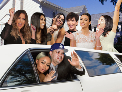Rob Kardashian & Blac Chyna -- Quickie Wedding in the Works and Kardashians Will Be Invited
