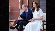 Kate Middleton -- Toe Up! Duchess Goes NO Pedicure (PHOTO)