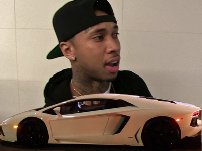 Tyga -- Hand Over the Lambo! You're $400k in the Hole