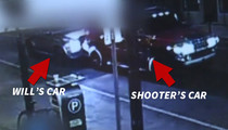 NFL's Will Smith -- Surveillance Video Shows Hit-and-Run ... Moments Before Shooting