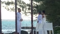 'Empire' -- Trai Byers & Grace Gealey ... Secret Island Wedding (PHOTOS)