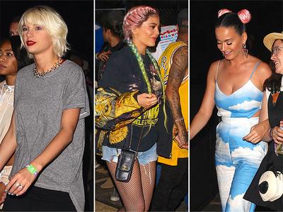 Coachella -- Taylor, Meet Lenny, Meet Kylie (Celeb Photos)