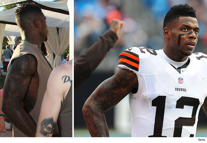 josh gordon jersey tattoo
