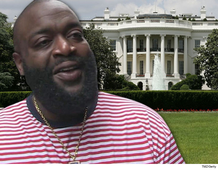 Lovely Rick Ross Was Like A Loud Fart In A Quiet Room When His Ankle Bracelet Went  Off Over The Weekend At The White House.
