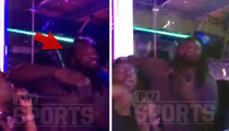 LeGarrette Blount -- Hits AZ Strip Club ... I'm Here to Dance!