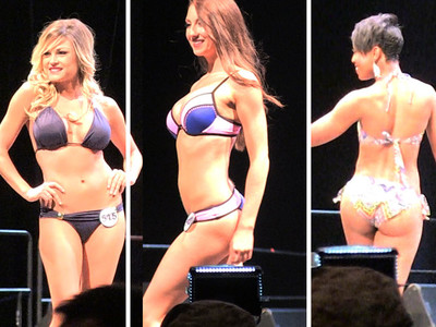 Rams Cheerleaders -- Hot Bikini Showdown ... At Final Tryouts (VIDEO)