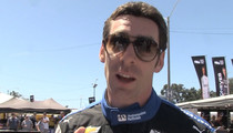 Racing Champ Simon Pagenaud -- I'M NOT SACHA BARON COHEN ... Please Stop (VIDEO)
