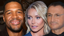 Michael Strahan -- Blindsided Kelly Ripa ... No Warning