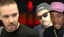 One Direction's Liam Payne -- I've Got Hip-Hop Cred Now with Wiz Khalifa & Juicy J (AUDIO)