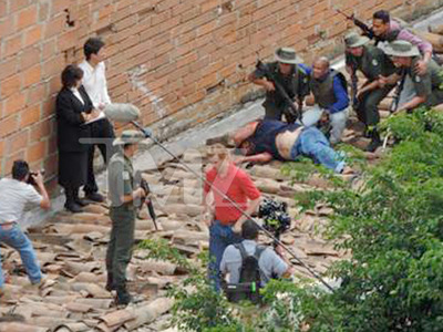 'Narcos' -- TV Crew Barred From Filming on Pablo Escobar Death Roof (PHOTOS)