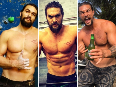 Fill Your Khal Craving With 22 Hot Shots of Jason Momoa