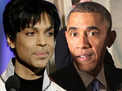Prince -- Prez Obama Salutes 'Electrifying Performer'