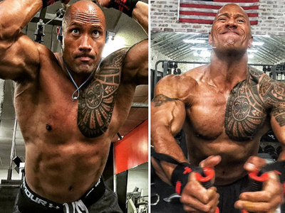 22 Ripped Photos of The Rock For #MCM