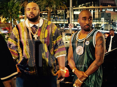 Tupac -- Fatally Shot Again ... Reporters Rush to Scene Again (PHOTOS)