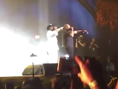 Ice Cube -- N.W.A. Reunion Complete ... Dr. Dre Takes The Stage At Coachella (VIDEO)