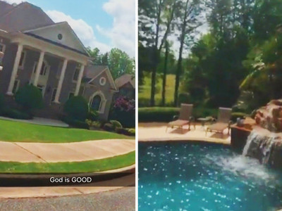 Adrien Broner -- Snapchat Tour ... Of INSANE New ATL Crib
