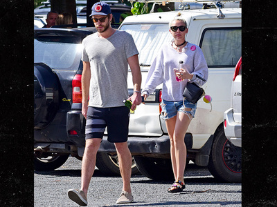 Miley Cyrus -- Goes Down Under For Liam Hemsworth (PHOTO)