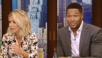 Michael Strahan -- Blindsided by Ripa Taking Divorce Cheap Shot (VIDEO)