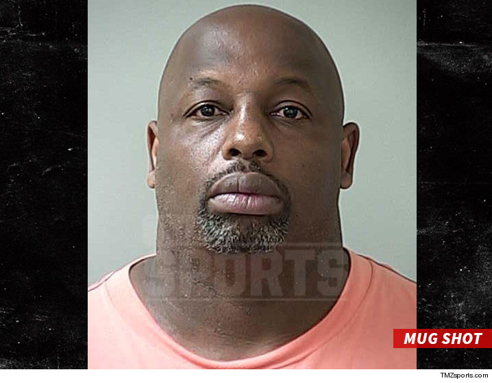 NFL's Dana Stubblefield Charged with Raping Mentally Disabled Woman