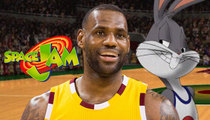LeBron James -- Starring In 'Space Jam 2' ... Bring On the MonStars!