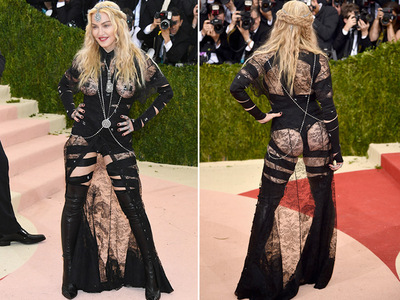 Madonna -- Dominates at Met Gala (PHOTOS)