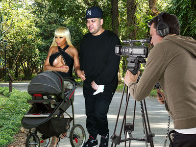 Blac Chyna & Rob -- Premature Negotiation ... In Talks for Baby TV Show