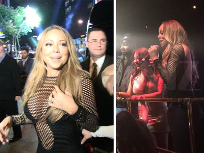 Mariah Carey -- Star of Million Dollar Bat Mitzvah