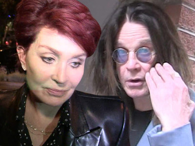 Sharon and Ozzy Osbourne -- Split Again ... He Moved Out