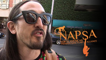 Steve Aoki -- Animal Rights Group Goes Apes*** ... Chimps Don't Like Dress Up
