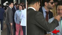 NFL's Mark Sanchez -- My Pimp Kentucky Derby Cane ... Is a Secret Flask!! (VIDEO)
