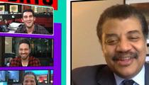 Neil deGrasse Tyson -- Gravity-Defying MLB Helmet Incident ... Isn't Gravity Defying