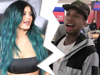 Kylie and Tyga -- Split ... We're Done For Real