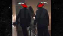 Selena Gomez and Orlando Bloom -- Post Vegas Snuggle Video ... Your Place or Mine? (VIDEO)