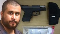 George Zimmerman -- Gun I Used to Kill Trayvon Martin ... Now for Sale