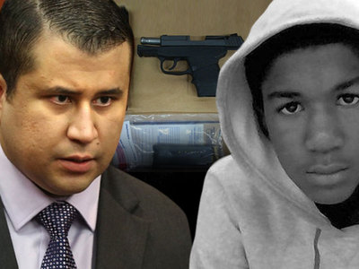 George Zimmerman -- Gun Auction Pulled ... But Not By Trayvon's Family