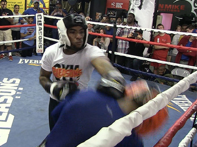 Charlamagne Tha God -- Earning Respek With His Fists ... Sparring With Boxing Star (VIDEO)
